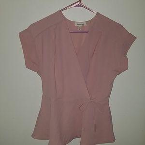 Monteau LA Pink Shirt